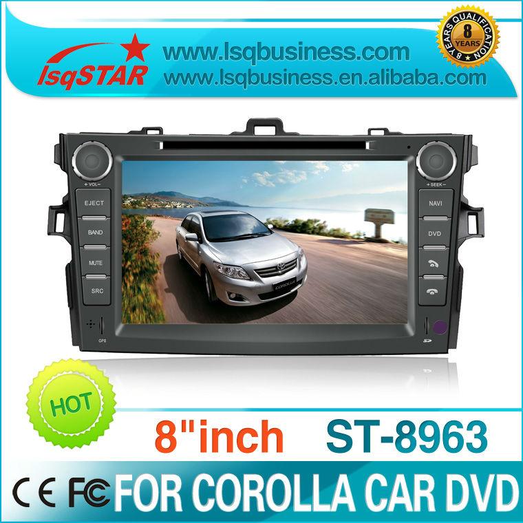 LSQ STAR 3G Car Radio/GPS for 8inch Toyota Corolla Multimedia(China (Mainland))