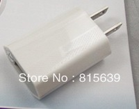 Free shipping 500pcs/lot  USB Travel Wall AC Charger for Apple iPhone 3G 4GS 4G US Plug /EU Plug