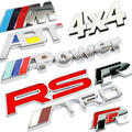 Free shipping TRD RS ABT 4X4 Power personalized car stickers emblem auto decoration,metal car stickers,3D Metal Logo Sticker(China (Mainland))