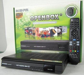 5pcs/lot Original openbox S4 hd satellite receiver  Support Youtube,Google,USB WiFi