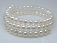 Natural pearl white fashion natural pearl bracelet gift