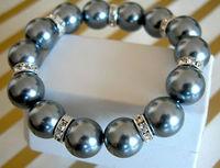 South Seas 12mm multicolour sallei pearl bracelet birthday gift