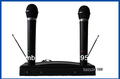 NEW Pro Wireless Microphone Mic Cordless DJ Karaoke System(China (Mainland))
