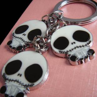 skull keychain novelty items innovatie gadget trinket souvenir christmas gift promotional keychain free shipping