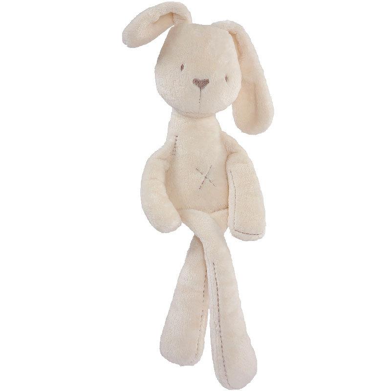 free shipping baby rabbit sleeping comfort doll plush toy(China (Mainland))