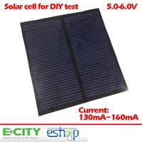 Free shipping 0.8 Watt 5.5V solar panel, Laminate solar cells for DIY & test