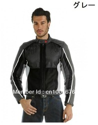 Air 2 tex' Men's Textile Summer Jacket Summer Jacket Racing mesh jacket Racing Clothes gray(China (Mainland))