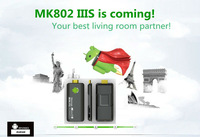Rikomagic MK802 IIIS Mini PC,Mobile Remote Control Android Set top box RK3066Cortex A9 1GB RAM 4G ROM HDMI TF Card