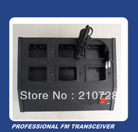 DHL freeshipping Six way Multi charger for two way radios walkie talkies TK3207 TK3207G