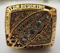 1991 Washington Redskins SUPER BOWL RING CHAMPIONSHIP RING 11 size Free Shipping New Year Gift