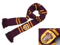 Christmas gift Harry Potter scarves(Thickening)pendant scarves(Gryffindor/ Hufflepuff/ Ravenclaw/ Slytherin)free shipping
