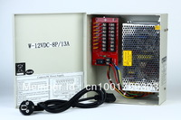 VideoSecu 8 Output 12 V DC CCTV Distributed Power Supply Box for Security Camera with lock13a ptc