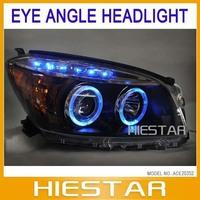Teardrop headlight Xenon Kits For Toyota RAV4  with LED Headlight Angel eye light