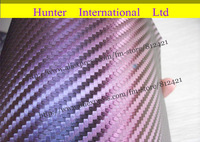 hot !!1.52x30M 15 Kinds Chameleon Vinyl Vehicle Wrapping Carbon Fiber Film Air Drain Free Bubbles Sticker free shipping cfc30m