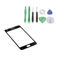 Black Glass Lens  for  Samsung Galaxy S2 i9100+ tools