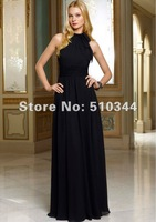 B12023 Free shipping chiffon bridesmaid dresses wholesale