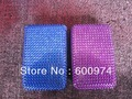 Free shipping 120pcs/lot  Diamond Credit Card Wallet Cases Card Holder Bank Card Case