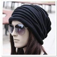 DHL/fedex free shipping Warm Winter Women Beret  Baggy Beanies Crochet Hat Ski Cap Knit Knitted