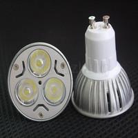 3W GU10 3x1W 85V 265V High Power Focus LED Spot Light Lamp Cool White New DIY