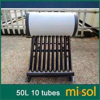 220v 50 Liter solar water heater non pressurized compact vacuum tube 47*700mm