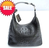 Women's backpack - quality women's single shoulder bag - crocodile skin backpack - crocodile skin bag