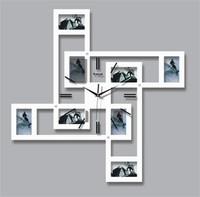 Large windmill mute the sitting room wall clock personalized fashion brief clocks pocket watch wool photo frame wall clock