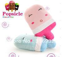 J2 Super Cute Popsicle plush pillow , cartoon summer forzando nap pillow, lovers gift