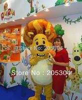 Factory Direct  Raa Raa Mascot Christmas Costume Free Shipping