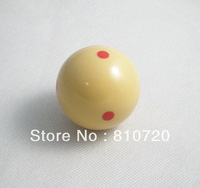 "Free shipping 1pcs Practice Training red point Pool snooker Billiard table Cue ball 2-1/4"" 57.2MM"