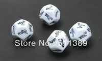 10Pcs/lot Sex Funny Adult Love Humour Gambling Sexy Romance Erotic Craps Dice Pipe Toys Freeshopping