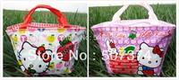 2PC Perfect Hello kitty Lunch Box Girls Handbag gift #BN