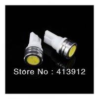Free EMS/DHL  Shipping 100pcs/lot T10 1W White Car wide led light car led lamp car led bulb