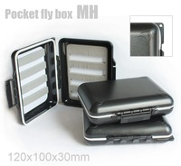 wholesale  30pcs/lot   MH waterproof pocket fly box