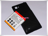 4300mAh Extended Li-ion battery with cover case for LG Optimus 4X HD P880 Free shipping