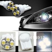 Free EMS/DHL shipping 200pcs T10 4 SMD LED  White led light 194 168 192 W5WCar Bulbs width lamp backup lamp door lamp