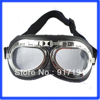 Free Shipping Motorcycle Scooter ATV Driving Glasses Sunglasses,Clear Lens Motorcycle Goggles Glasses Eyewear