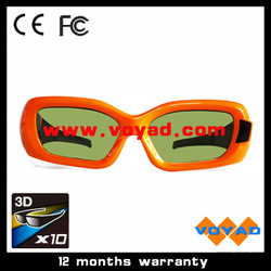 Free shipping! High quality Nvidia 3D glasses (10pcs/lot) for Nvidia 3D Vision Kits(China (Mainland))