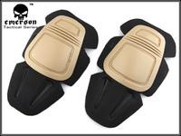 Tactical G3 Protective Knee Pads - Tan free ship