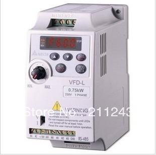 VFD007L21A 0.75kw/220v NEW DELTA Multifunction Simple inverter