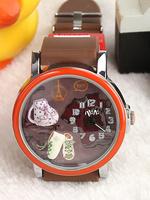 Mini table handmade polymer clay watch sports cartoon watch gift watch for boys