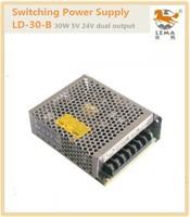 LD-30-B 30W 5V 24V Dual output  switching power supply