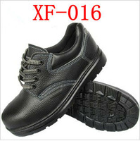 XF-016  Protective Safety Shoes Steel Header Cap Toe Leather Shoes /Men Women Working Shoes Free Shipping