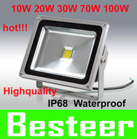 High power LED flood light 10W,20W,30W,Warm white /Cool white /RGB Remote Control floodlight outdoor lighting