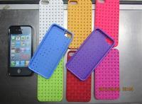 Exclusive new weaving grain phone case for iphone5 popular case 9color hot case 500pcs/lot