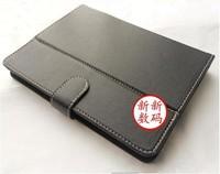 2012 Free shipping Original 7 inch Leather Case for Ainol novo 7 elf ii / aurora ii Tablet PC black