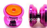 Free shipping Magic yoyo T10 (dark angel), 2012 newest T10 High quality aluminum alloy Metal YoYo ball