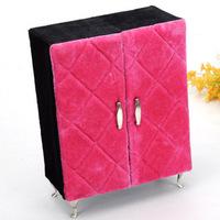 Free Shipping Hot-selling princess fashion sofa earring,ring ,necklace organizer jewellery box/case birthday wedding gift  C0221