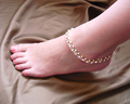 Fashion accessories ol exquisite aesthetic pearl rhinestone anklet bracelet