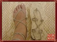 free shipping Linen tatbeb natural male all-match men's fashion sandal rattan tatbeb 9902
