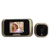 "2.8"" Color LCD Peephole Digital Video Door Viewer Doorbell IR Security Camera Photo Video Recording Free Shipping"